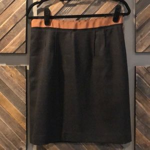 Loft Wool Pencil Skirt